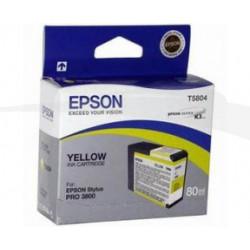 EPSON ENCRE PIGMENT JAUNE C13T580400