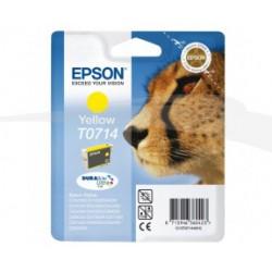 CARTOUCHE EPSON ENCRE DURABRITE ULTRA JAUNE D78/DX4050/5050/6050/7000F