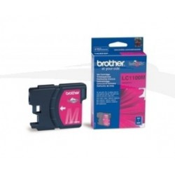 CARTOUCHES JET D'ENCRE MAGENTA BROTHER LC1100M