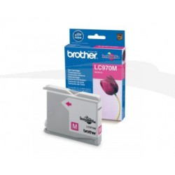 CARTOUCHE D'ENCRE MAGENTA BROTHER LC970M