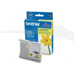 CARTOUCHE D'ENCRE JAUNE BROTHER LC970Y