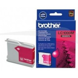 CARTOUCHE D'ENCRE MAGENTA BROTHER LC1000M